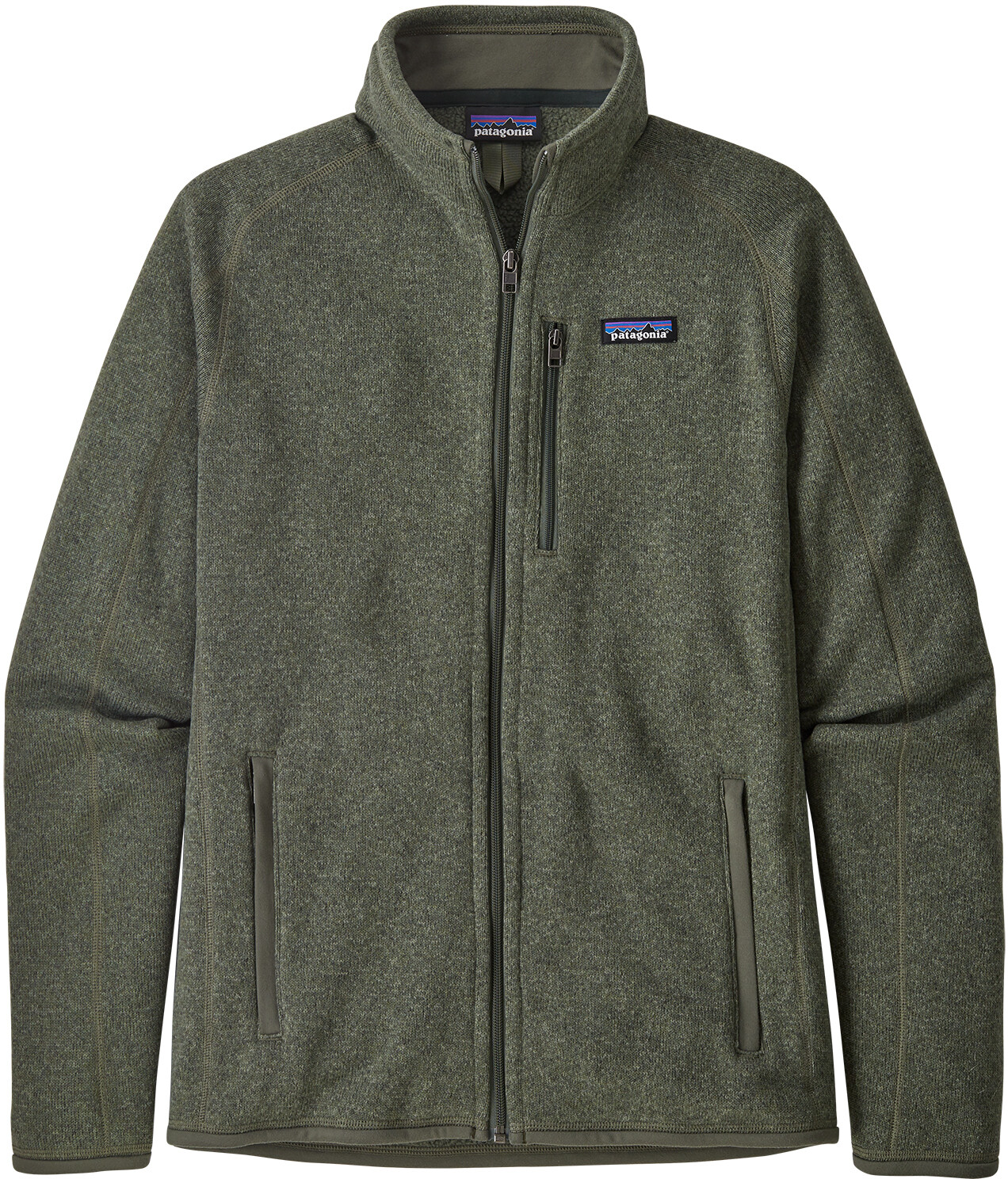 Patagonia Better Sweater Jacke Herren industrial green